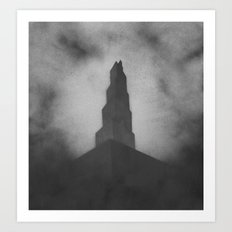Lonely Tower Art Print