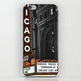 Historic Chicago Theatre iPhone Skin
