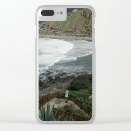Welcoming View Clear iPhone Case