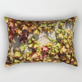 Parthenocissus Tricuspidata Rectangular Pillow