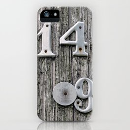14 Over 9(1) iPhone Case