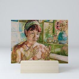 In the Bath Mini Art Print