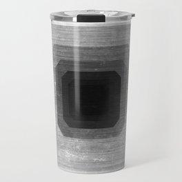 metal polygon Travel Mug