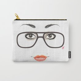 Hipster Eyes 3 Carry-All Pouch