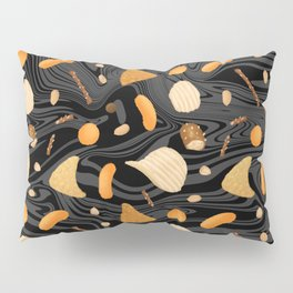 Snack Food Marble Pillow Sham
