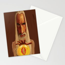 Caricature of Christopher Lee Stationery Cards