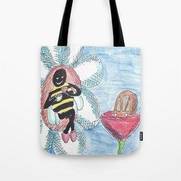 Bee and Tea Tote Bag