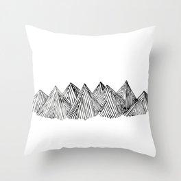 mountains #1 Throw Pillow