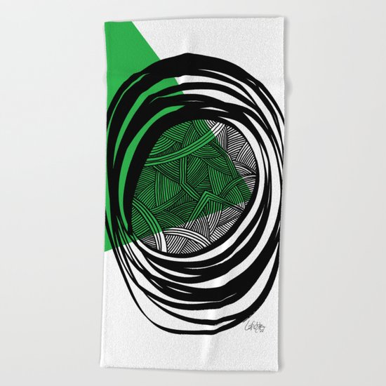 - plan b - Beach Towel