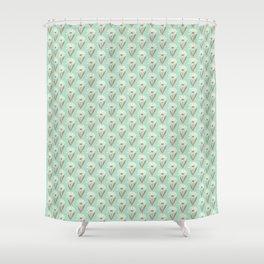 Silvestre flower field Shower Curtain