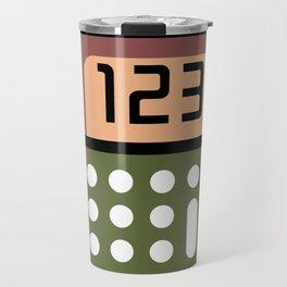 Calculator Super Cute Gift Idea Travel Mug