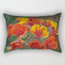Red Bird of Paradise #1 Rectangular Pillow