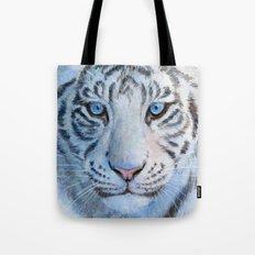White Tiger Cub 852 Tote Bag