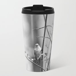 Ruby-Crowned Kinglet, Small Bird Travel Mug