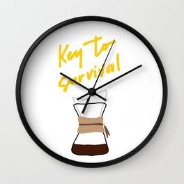 Coffee - Chemex Wall Clock