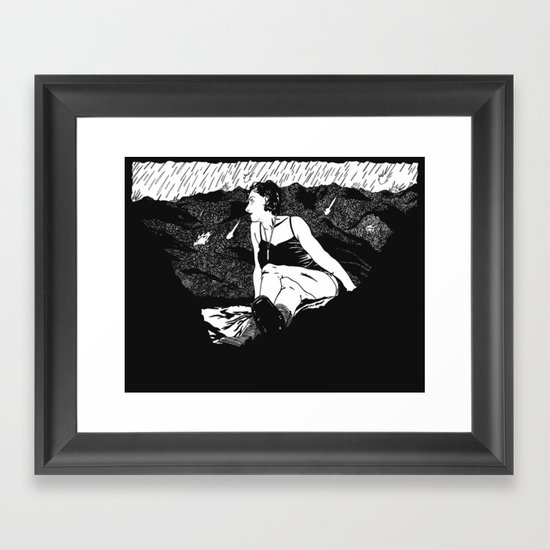 The Witness Framed Art Print