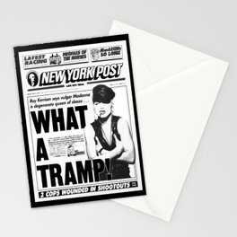 Madonna -What A Tramp - New York Post Stationery Cards