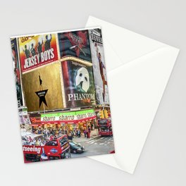 Times Square II Stationery Cards