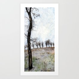 Tree in Fall Art Print