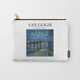 Van Gogh - Starry Night Over the Rhône Carry-All Pouch