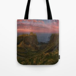 Fort On The Shelving Slope Tote Bag