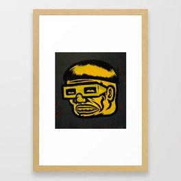 dr.Cog Framed Art Print