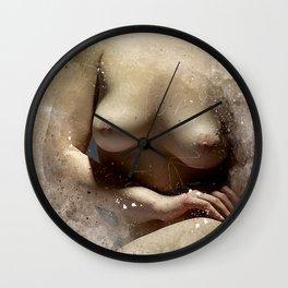 Delicate Woman Wall Clock