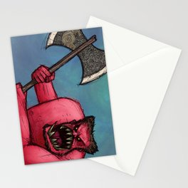 Red Orc Stationery Cards