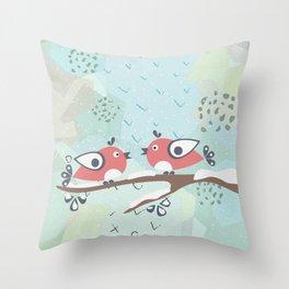 Birds Throw Pillow