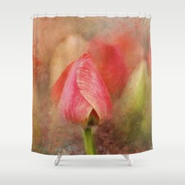 Spring Tulip ImpressionII Shower Curtain