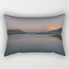 Sunrise in Norway Rectangular Pillow
