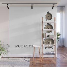 WAKE UP Wall Mural