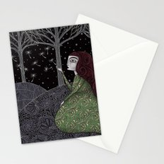 My Winter Stars Stationery Cards