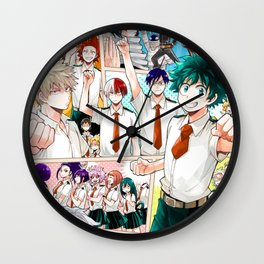 My Hero Academia v5 Wall Clock