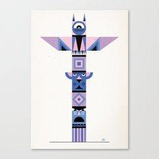 Geometric Totem Canvas Print
