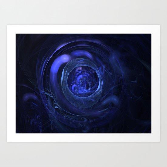 Through a Glass Darkly Art Print
