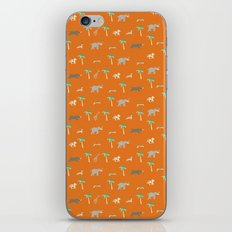 Pattern of The Darjeeling Limited & Hotel Chevalier iPhone Skin