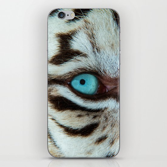 WHITE TIGER BEAUTY iPhone & iPod Skin