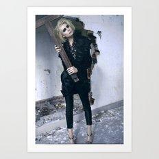 Gotika Art Print