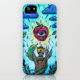 The Serpent's Lure iPhone Case