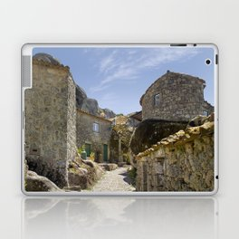 Monsanto, Portugal, a cobbled street Laptop & iPad Skin