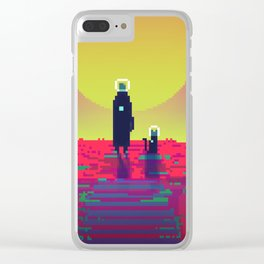 PHAZED PixelArt 2 Clear iPhone Case