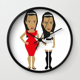 SIBLINGS : THE KARDASHIANS Wall Clock