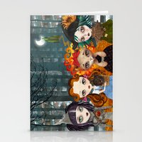 oz Stationery Cards featuring Oz Girls by Sandra Vargas