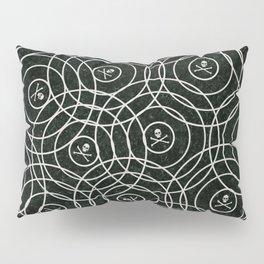Random Rings Silver Pillow Sham