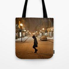 Québec Night Tote Bag