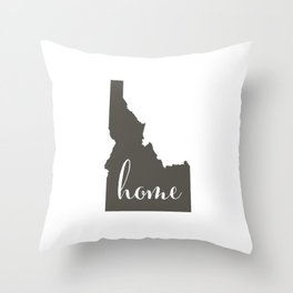 Idaho is Home Throw Pillow