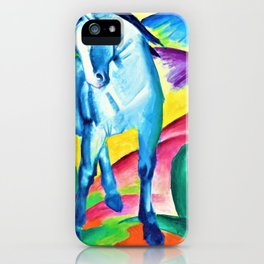 Digital Remastered Edition - Blue Horse iPhone Case