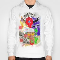 fear and loathing Hoodies featuring GONZO Fear and Loathing Print by Just Bailey Designs