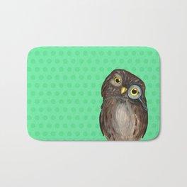 Curios Owl from Animal Society Bath Mat